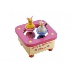 Musikdose - Spieluhr Katze und Maus