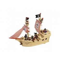 Piratenschiff Holz