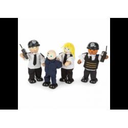Biegepuppen Police