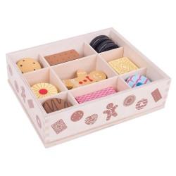 Spielküche Zubehör - Keksdose aus Holz