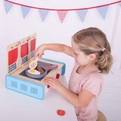 Spiel-Geschirr PFANNE aus Holz