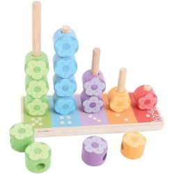 Blumensteckspiel - Bigjigs Toys