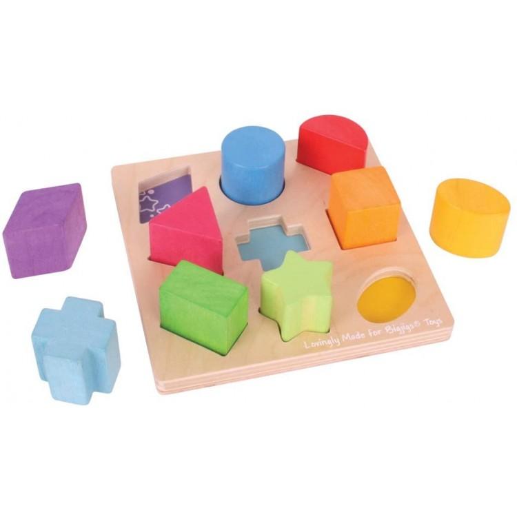 Formensortierspiel - Bigjigs Toys