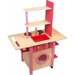 Kinderküche - ll in one, rosa