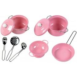Kinder-Kochgeschirr rosa