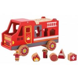 Feuerwehrauto - Steckbox