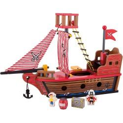 Piratenschiff - Holz - Joueco