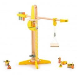 Spielzeug Kran aus Holz - 60 cm.