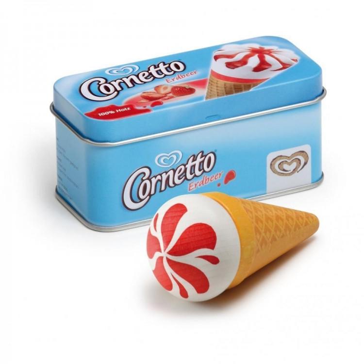 Erzi - Eis Cornetto Erdbeer in der Dose