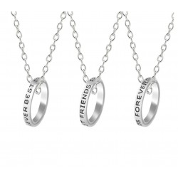 Freundschaftsketten - 3 Mädchen - Ringe