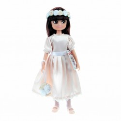 Puppe - Lottie Blumenmädchen Brautjungfer