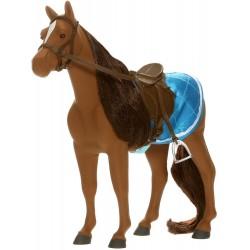 Lottie Pferd Sirius das Mountain Pony mit Sattel