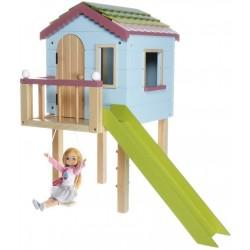 Puppenhaus - Lottie Puppen Baumhaus aus Holz