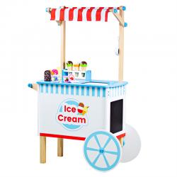 Eiswagen aus Holz - Kaufladen für Kinder