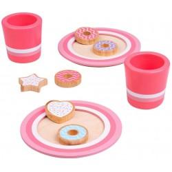 Spielküche Zubehör - Milch und Kekse