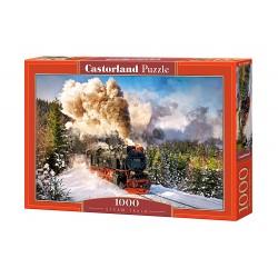 Dampflokomotive  -  Puzzle 1000 Teile