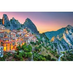 Sunrise over Castelmezzano, Puzzle 1500 Teile