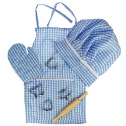 Kinderchefkoch-Kostüm blau