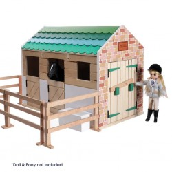 Pferdestall aus Holz - Lottie