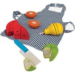 Koch-Set Obst schneiden