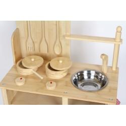 Spielküche Bambus