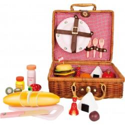 Spielzeug - Picknickkorb Brotzeit 24-teilig