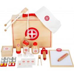 Kinder - Arztkoffer Holz