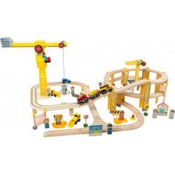Holzeisenbahn - Baustelle