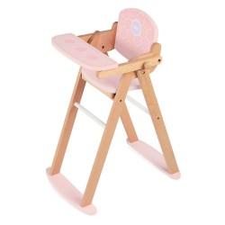 Puppenhochstuhl aus Holz