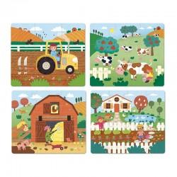 Puzzle aus Holz Farm - Vilac