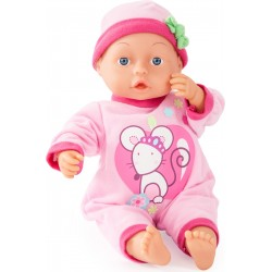 Puppe - Bayer First Words Baby pink 33 cm