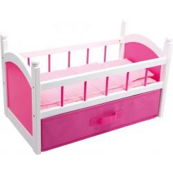 Puppenbett - pink