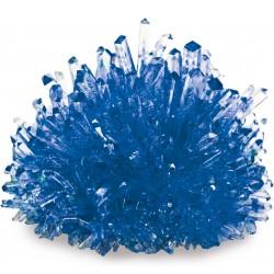 Kristalle züchten - blau