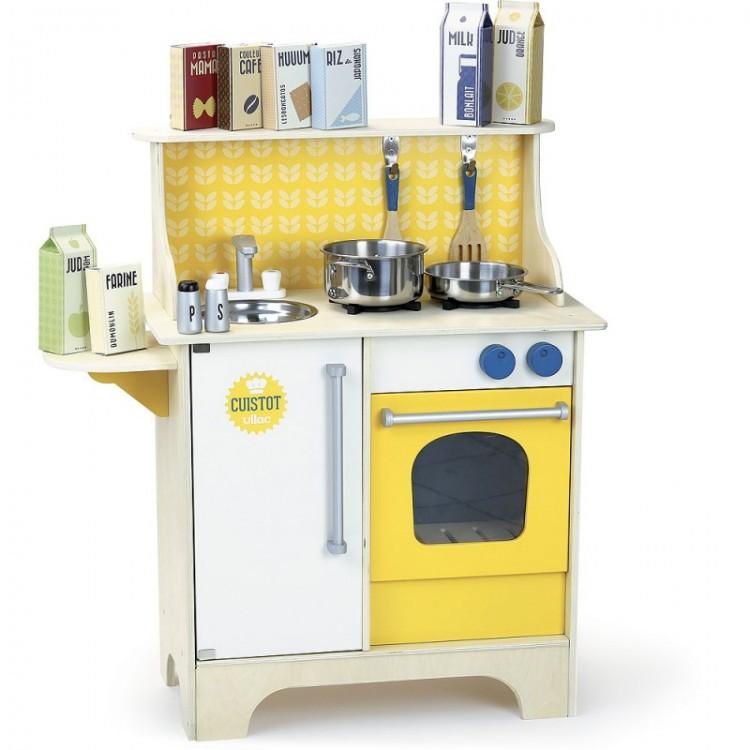 Spielküche Cuistot Moutarde - Vilac