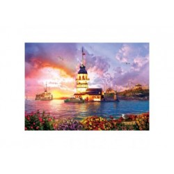 Puzzle 1000 Teile - Maiden's Tower