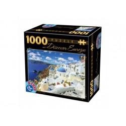 Puzzle 1000 Teile - Santorini