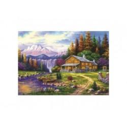 Puzzle 1000 Teile - Sonnenuntergang