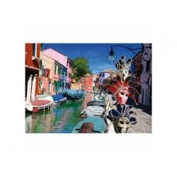Puzzle 1000 Teil - Italien - Burano