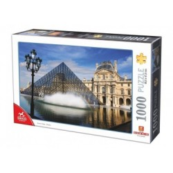 Le Louvre, Paris  -  Puzzle 1000 Teile