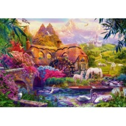 Puzzle 1000 Teile - Bluebird Puzzle Old Mill