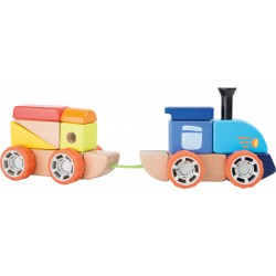 Eisenbahn - Holzbausatz