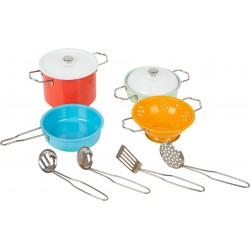 Kinder Kochgeschirr-Set mit Zubehör