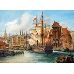 Puzzle 1000 Teile - The Old Gdansk
