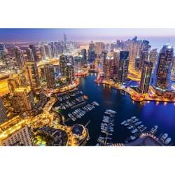 Puzzle 1000 Teile -  Dubai at Night