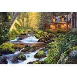 Puzzle 1000 Teile - Creek Side Comfort