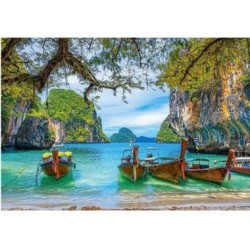 Puzzle 1500 Teile - Beautiful Bay in Thailand