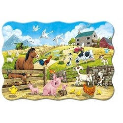Kinderpuzzle - Bauernhof 20 Maxi