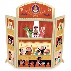Puppentheater aus Holz - Vilac