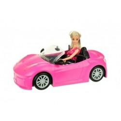 Puppe - LAUREN in Auto