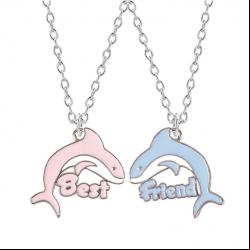 Freundschaftsketten - 2 Mädchen - Delfine